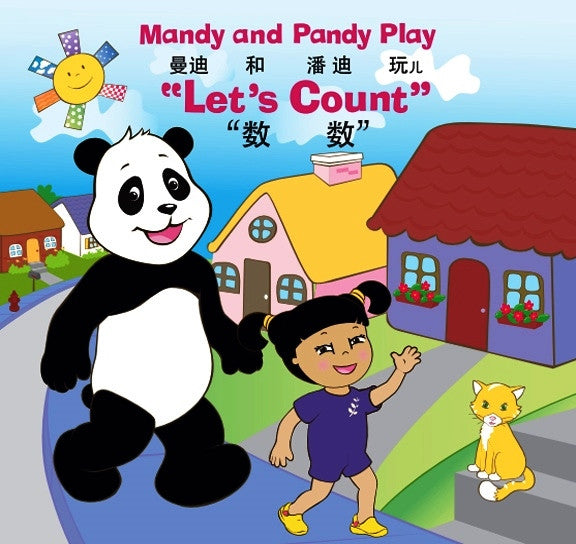 Mandy and Pandy Play Let's Count (Book and CD Set)