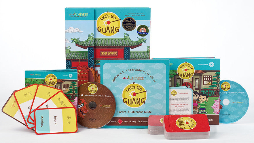Let's Go Guang! Chinese for Children Vol. 1