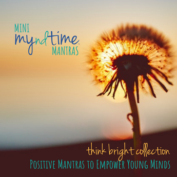Mini myndtime Mantras - Think Bright Collection