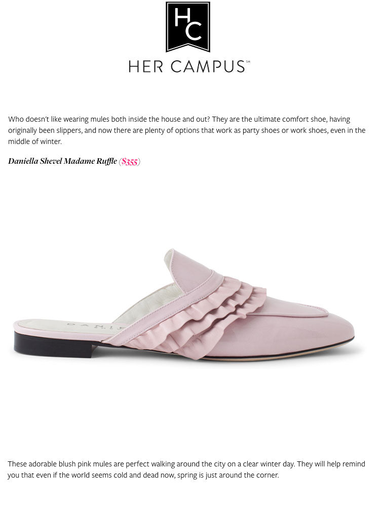 Daniella Shevel Shoes Her Campus Press