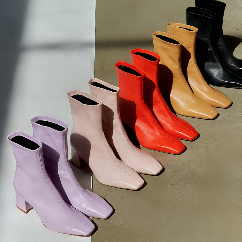 Daniella Shevel Milani Stretch Bootie Collection of Colors