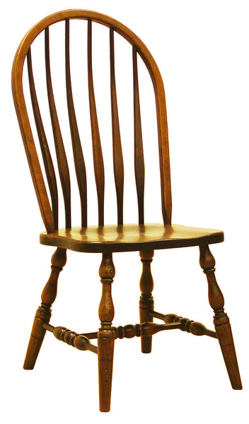 High Back Bent Feather Side Chair