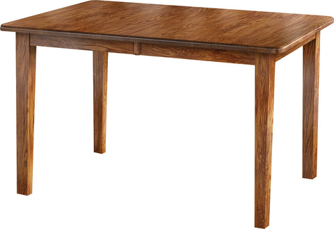 Economy Oak Shaker Leg Table
