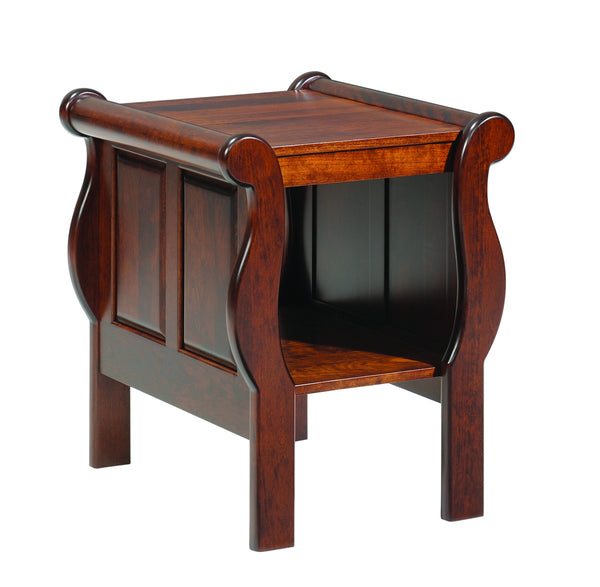 Sleigh End Table