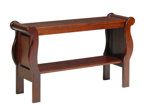 Sleigh Sofa Table
