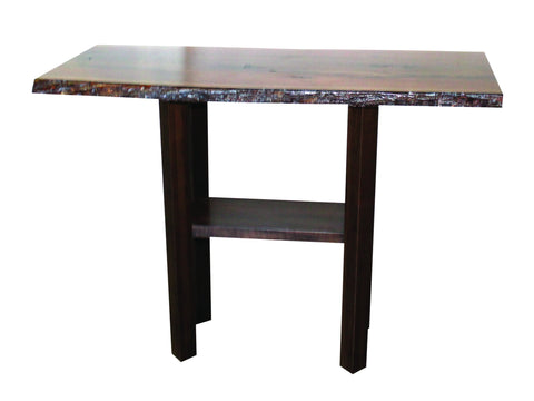 Romance Walnut Console Table