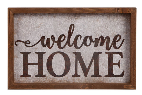Framed Art - Welcome Home