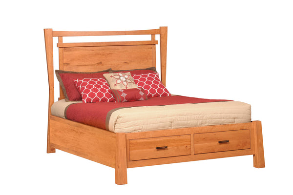 Catalina Bed with Drawers