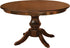 Economy Brown Maple Denver Single Pedistal Table