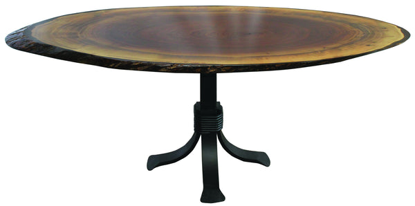 Heritage Walnut Oval Table