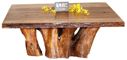 Romance Wormy Maple Coffee Table