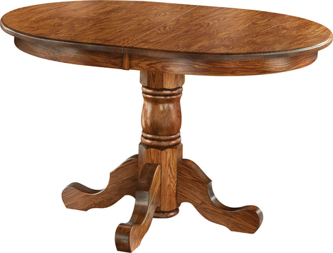 Economy Oak Pedistal Table