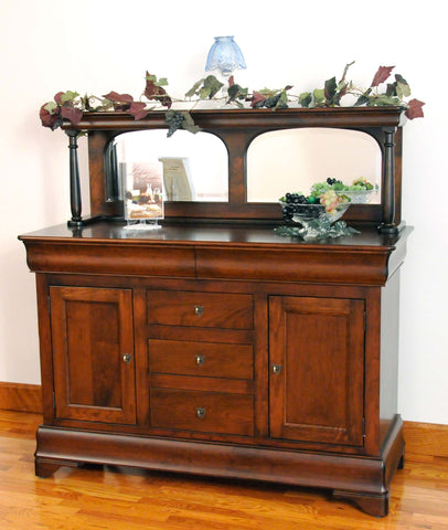 Louis Phillipe 2 door Buffet Server