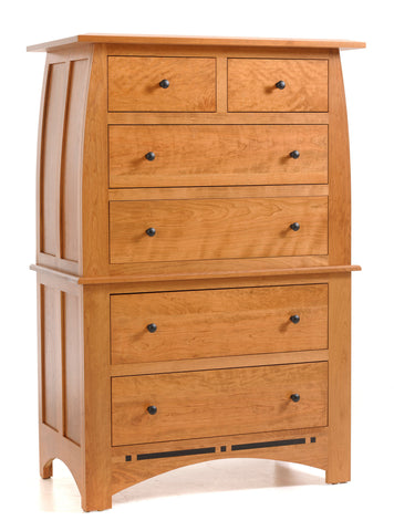 Vinyard Chest on Chest with 6-drawers