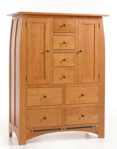 Vinyard Door Chest with 8-drawers