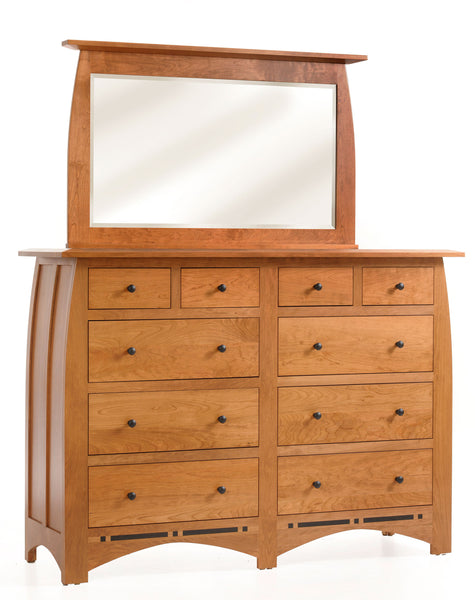 Vinyard High Dresser with 10-drawers