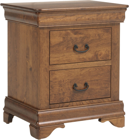 Versailles Nightstand with 2 Drawers
