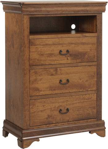 Versailles Chest with VCR Shelf