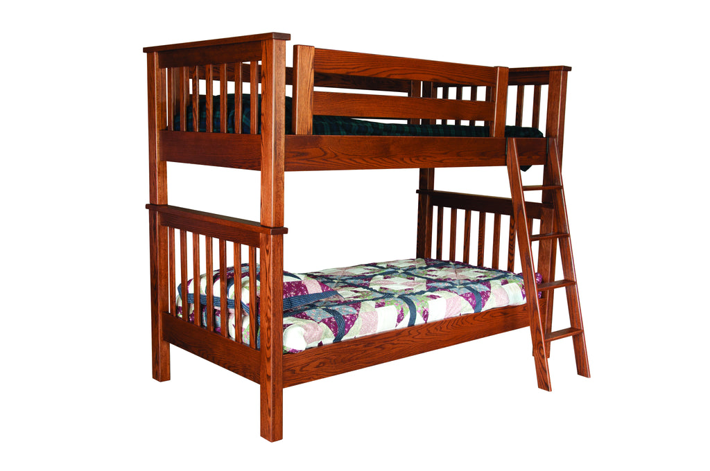 Amish Mission Bunk Bed Amish Decor