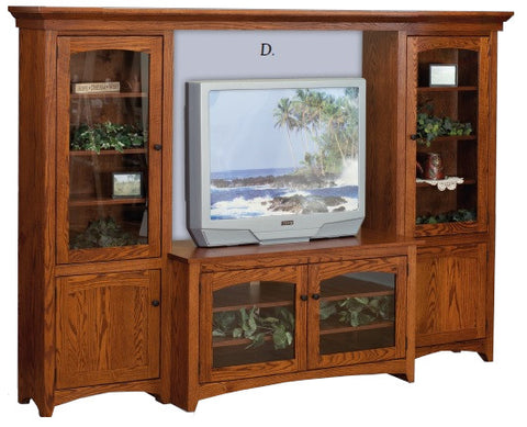 Modern Shaker Style Entertainment Center