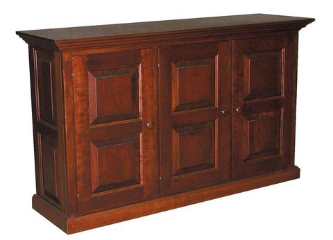 Sofa Cabinet with raised panel doors