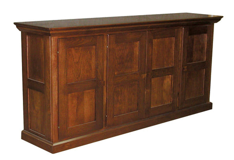 Sofa Cabinet with recessed panel doors