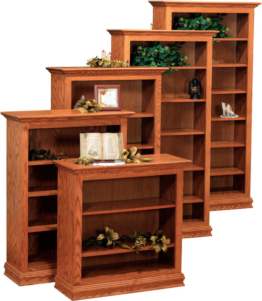"Traditional Bookcases 52"" wide"
