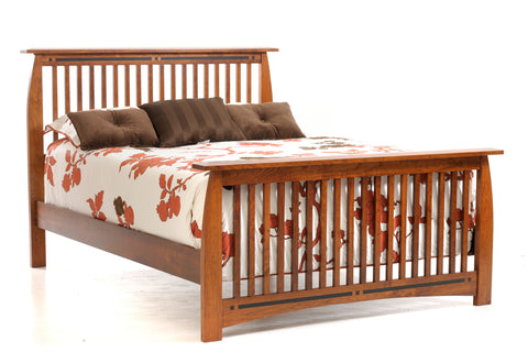 Vinyard Slat Bed