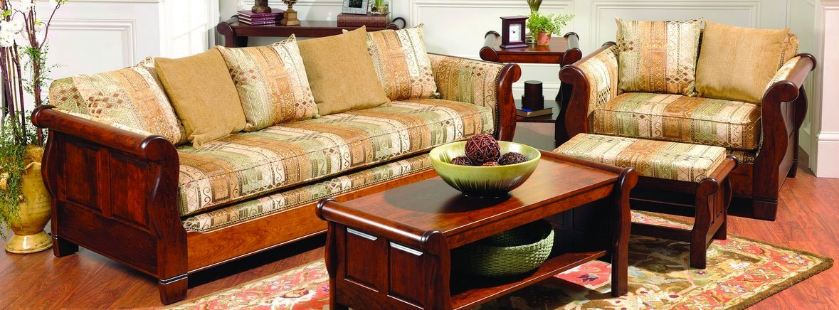 Amish Furniture Handmade With Solid Wood Amish Decor
