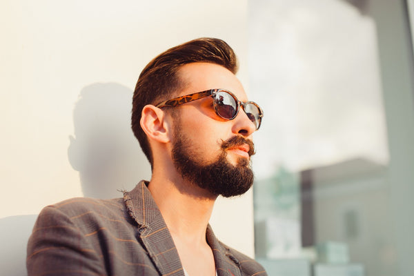 How to match beard and hair style