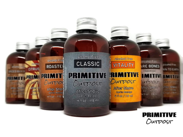 Primitive Outpost's After shave collection