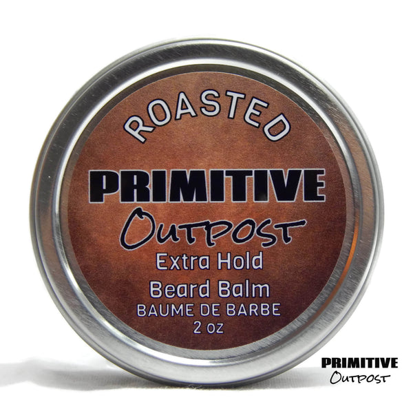 Roasted Extra Hold Beard Balm