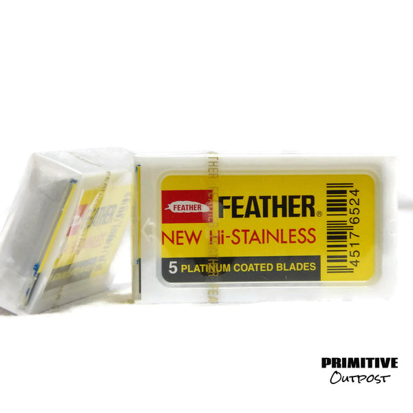 Feather safety razor blades