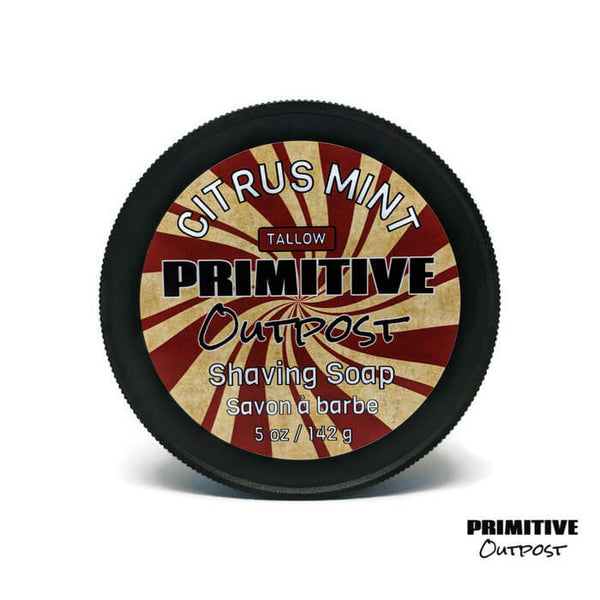 Primitive Outpost Citrus Mint Shave Soap