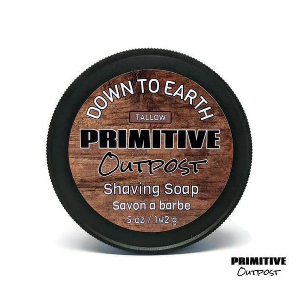 Primitive Outposts Woodsy Scented Shave Soap