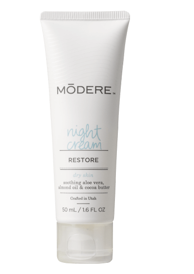 Bottle of Modere Night Cream for Dry Skin