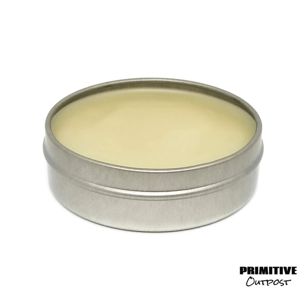 Citrus Mint conditioning beard balm opened side