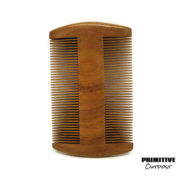 Sandalwood Comb vertical
