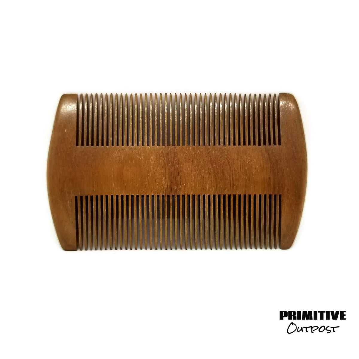 Sandalwood Dual Sided Fine Tooth Comb