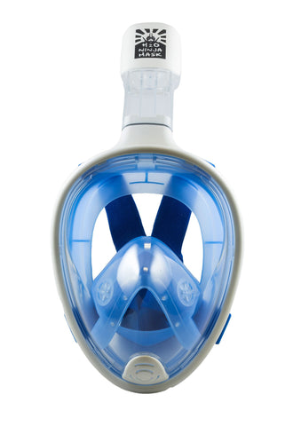 Full Face Snorkel Mask – H2O Ninja Mask Blue