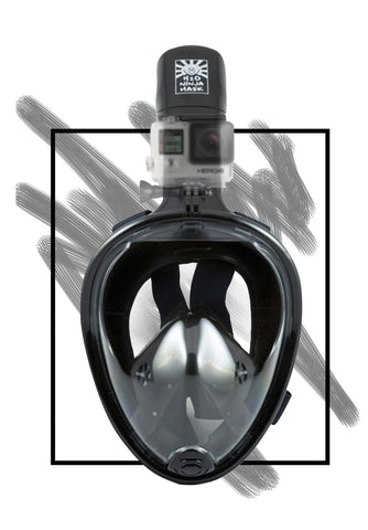 Full Face GoPro Snorkel Mask from H2O Ninja Mask
