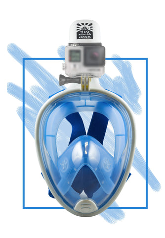 H2o Ninja Mask– GoPro Edition Blue