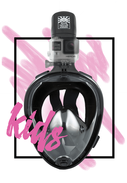Full Face Snorkel Mask for Kids from H2O Ninja Mask