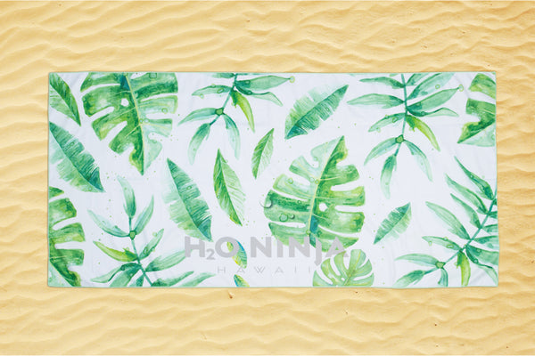 H2o Ninja - Beach towel - Lau - Palm leafs