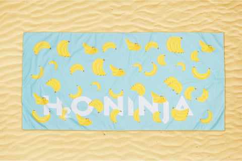 H2o Ninja - Beach towel - Laki- Banana