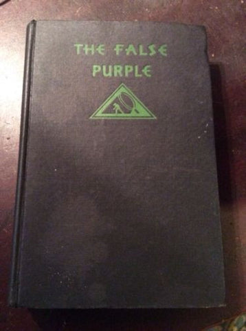1932 1st Edition The False Purple - Sydney Horler Mystery League Inc art deco