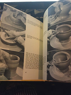 1967 Making Ceramics Lundkvist Throwing Clay Pinch Coil Slab Molds Glaze Kiln
