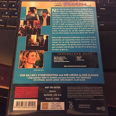 MIDDLE OF THE NIGHT DVD - Pal region 2 scandinavian languages 126 minutes