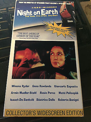 night on earth - five taxis five cities one night [VHS] shipping included!
