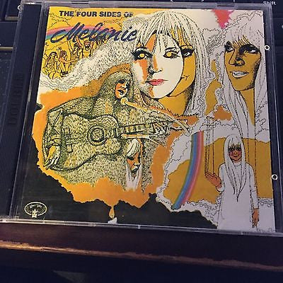 1972 four sides of melanie rare 2 disc CDs 1992 kama sutra version